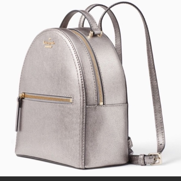 Kate♠️Sammi Patterson Dr. Small Leather Backpack